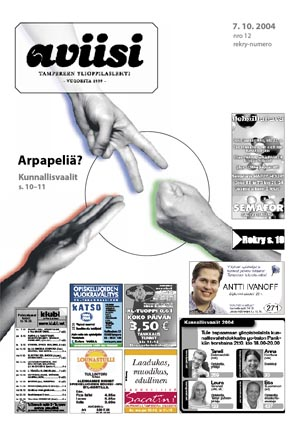 Aviisi 12/2004 - Lappeenrannasta tulee Metropoli